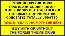 How Not to Promote Concerts and Festivals book overview