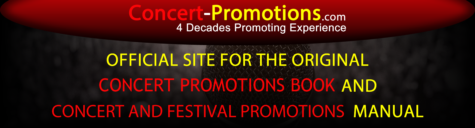 concert promotions banner